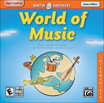 Creating Music Series: World of Music (Intermediate) (Home Version) (AL-00-34020)
