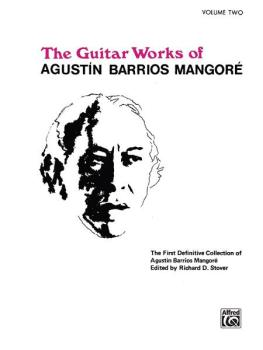 Guitar Works of Agustín Barrios Mangoré, Vol. II (AL-00-EL02603)