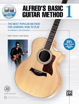 Alfred's Basic Guitar Method 1 (Third Edition): The Most Popular Metho (AL-00-45304)