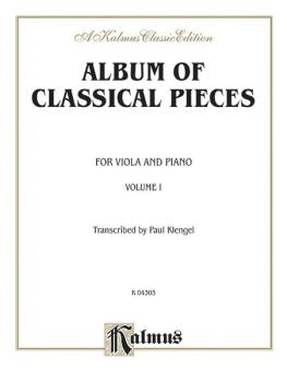 Album of Classical Pieces, Volume I (AL-00-K04303)