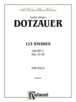 113 Studies, Volume II (AL-00-K04414)
