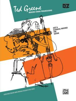 Ted Greene: Modern Chord Progressions: Jazz & Classical Voicings for G (AL-00-EL02779)