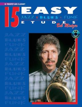 15 Easy Jazz, Blues & Funk Etudes (AL-00-ELM00033CD)
