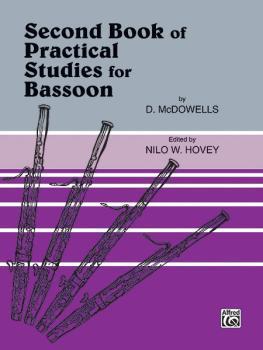 Practical Studies for Bassoon, Book II (AL-00-EL01654)