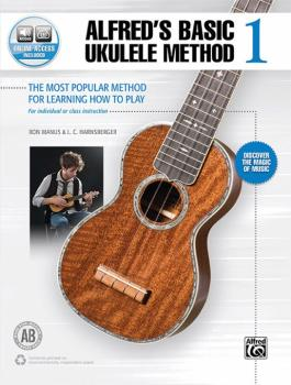 Alfred's Basic Ukulele Method 1: The Most Popular Method for Learning  (AL-00-46014)