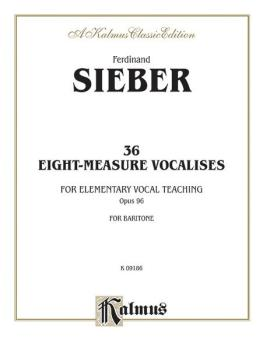 36 Eight-Measure Vocalises for Elementary Teaching (AL-00-K09186)