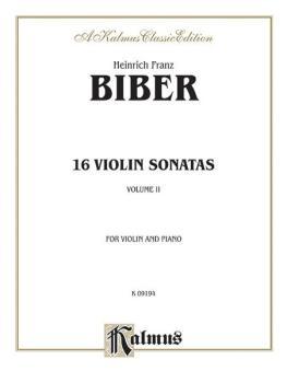 16 Violin Sonatas (AL-00-K09194)
