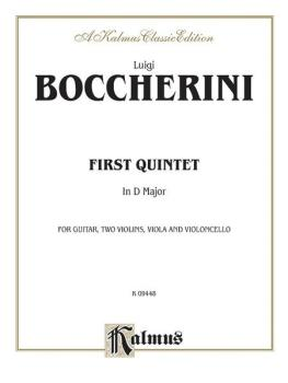 First Quintet in D Major (For Guitar, Two Violins, Viola, and Cello) (AL-00-K09448)