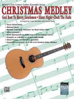 Belwin's 21st Century Guitar Ensemble Series: Christmas Medley (AL-00-EL04011)