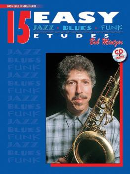 15 Easy Jazz, Blues & Funk Etudes (AL-00-ELM00032CD)