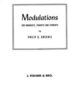 Modulations for Organists, Pianists and Students (AL-00-FE08148)