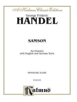 Samson (1743), An Oratorio (AL-00-K01319)