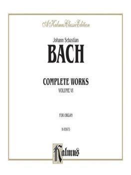 Complete Organ Works, Volume VI (AL-00-K03075)