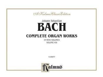 Complete Organ Works, Volume VIII (AL-00-K03077)