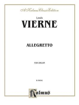 Allegretto for Organ (AL-00-K04041)