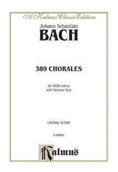 389 Chorales (Choral-Gesange) (AL-00-K06002)