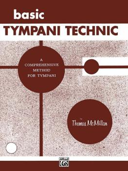 Basic Tympani Technique: A Comprehensive Method for Tympani (AL-00-PROBK00610)
