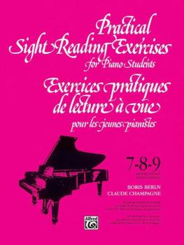 Practical Sight Reading Exercises for Piano Students, Books 7, 8, 9 (AL-00-V1037)