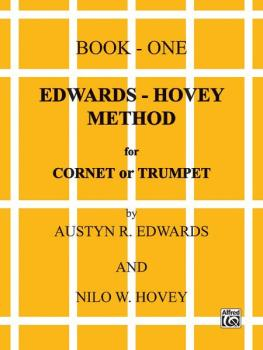 Edwards-Hovey Method for Cornet or Trumpet, Book I (AL-00-EL00077)