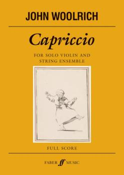 Capriccio (For Solo Violin and String Ensemble) (AL-12-0571538355)