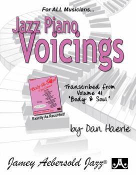 "Jazz Piano Voicings (Transcribed from <i>Volume 41 ""Body & Soul""</i>) (AL-24-BSP)"