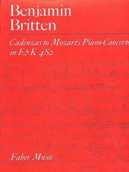 Cadenzas to Mozart's Piano Concerto in E-Flat (K482) (AL-12-0571500919)