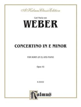 Concertino in E Minor, Opus 45 (Orch.) (AL-00-K04532)