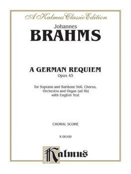 A German Requiem, Opus 45 (AL-00-K06109)