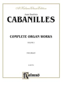 Complete Organ Works, Volume I (AL-00-K09776)