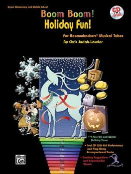 Boom Boom! Holiday Fun! (For Boomwhackers® Musical Tubes) (AL-00-BMR07022CD)