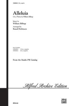 Alleluia (On a Theme by William Billings) (AL-00-SVM00023)