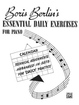 Essential Daily Exercises for Piano (AL-00-V1011)