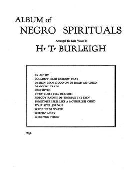 Album of Negro Spirituals (AL-00-FC01432)