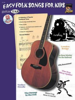 Easy Folk Songs for Kids: A Collection of Popular Traditional Tunes (AL-07-1061)
