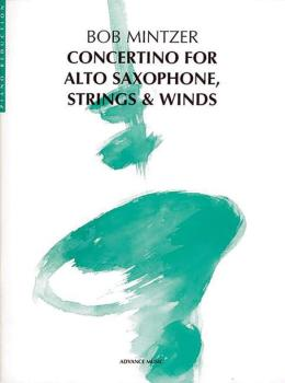 Concertino for Alto Saxophone, Strings & Winds (AL-01-ADV40003)