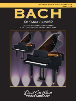 Bach for Piano Ensemble, Level 4 (AL-00-FDL00463A)