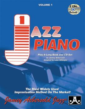 Jamey Aebersold Jazz, Volume 1: Jazz Piano: The Most Widely Used Impro (AL-24-V01P)
