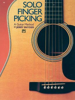 Solo Finger Picking (A Guitar Method) (AL-00-382)