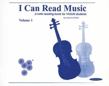 I Can Read Music, Volume 1: A note reading book for VIOLIN students (AL-00-0439)