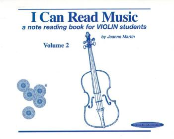 I Can Read Music, Volume 2: A note reading book for VIOLIN students (AL-00-0427)