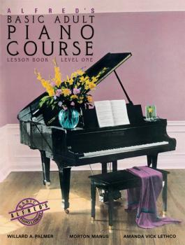 Alfred's Basic Adult Piano Course: Lesson Book 1 (AL-00-14041)