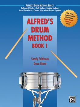 Alfred's Drum Method, Book 1: The Most Comprehensive Beginning Snare D (AL-00-138)