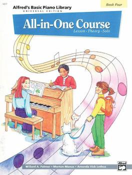 Alfred's Basic All-in-One Course Universal Edition, Book 4 (AL-00-14517)