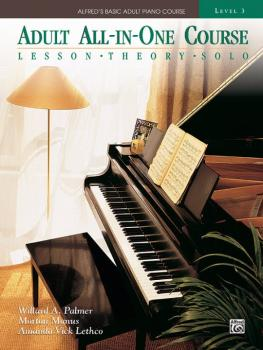Alfred's Basic Adult All-in-One Course, Book 3 (Lesson * Theory * Solo (AL-00-14540)