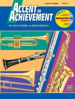 Accent on Achievement, Book 1 Bass Clarinet (AL-00-17086)