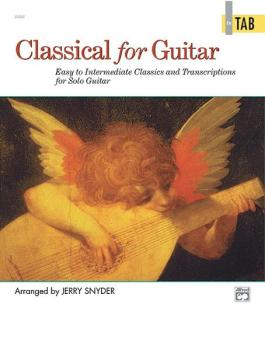 Classical for Guitar: In TAB: Easy to Intermediate Classics and Transc (AL-00-16751)