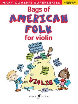 Bags of American Folk for Violin (AL-12-0571534163)
