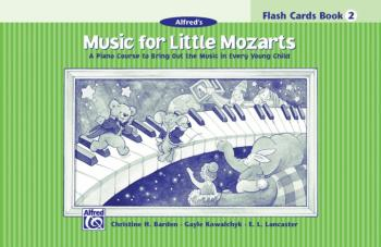 Music for Little Mozarts: Flash Cards, Level 2: A Piano Course to Brin (AL-00-14599)