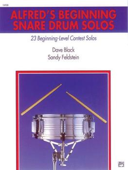 Alfred's Beginning Snare Drum Solos: 23 Beginning-Level Contest Solos (AL-00-16928)