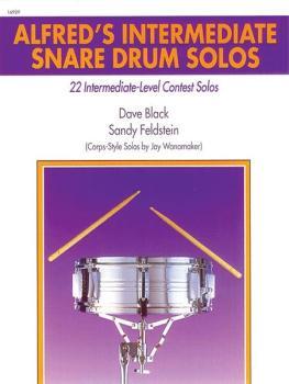 Alfred's Intermediate Snare Drum Solos: 22 Intermediate-Level Contest  (AL-00-16929)